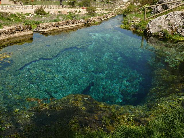 nacimiento rio segura