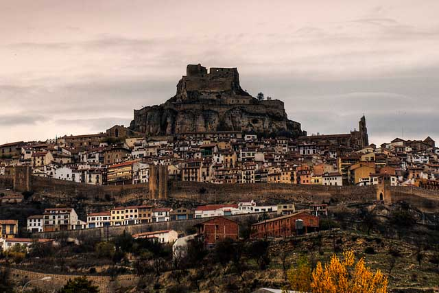 Castillo de Morella, Castillos de Castellon