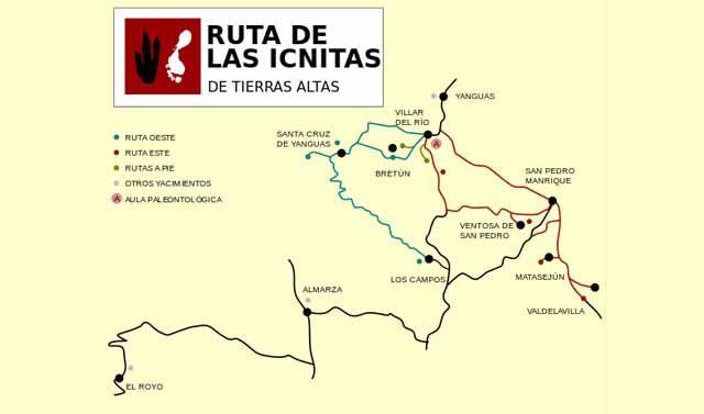 Excursiones en Soria Ruta de Ls Icnitas