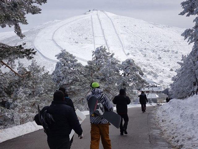 pistas esqui navacerrada