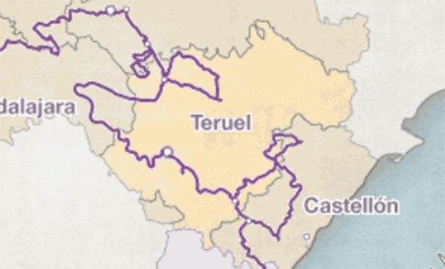 ruta del cid en teruel