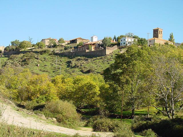 horcajo sierra pueblos madrid