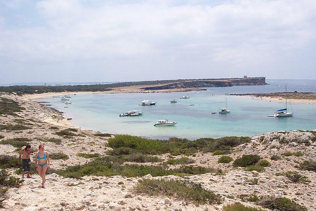 playa espalmador