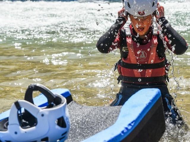 rafting pirineo niños