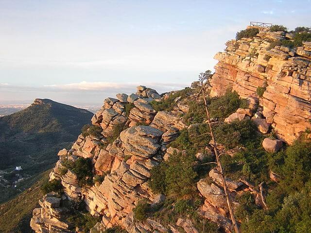 ruta senderismo valencia mirador garbi