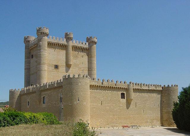Castillo-Valladolid-Fuensaldana