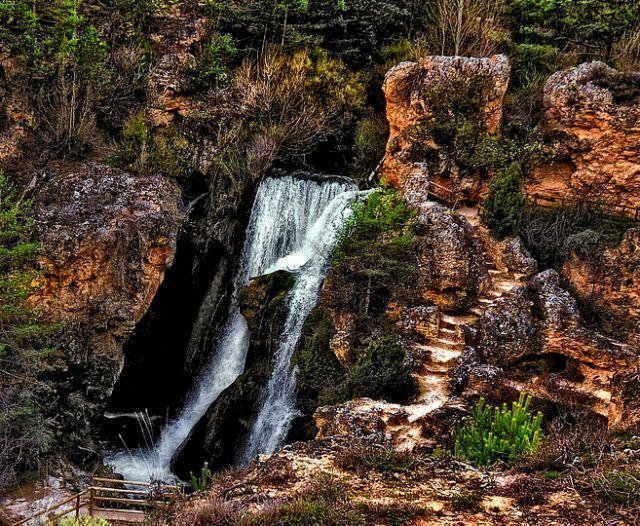 cascada batida calomarde