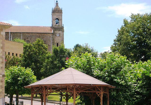 iglesia santa maria galdacano