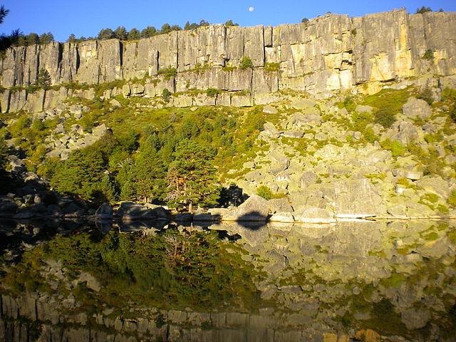 ruta parque natural laguna negra