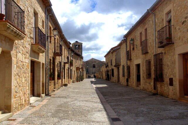 calle mayor pedraza