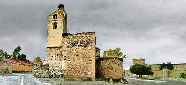 iglesia santa maria pedraza