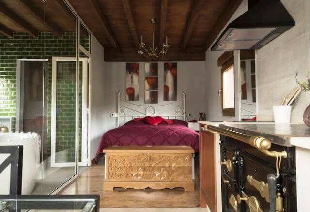 apartamento rural romantico manzana asturias