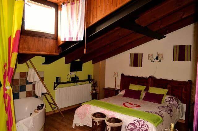 casa rural romantica fuente pilon avila