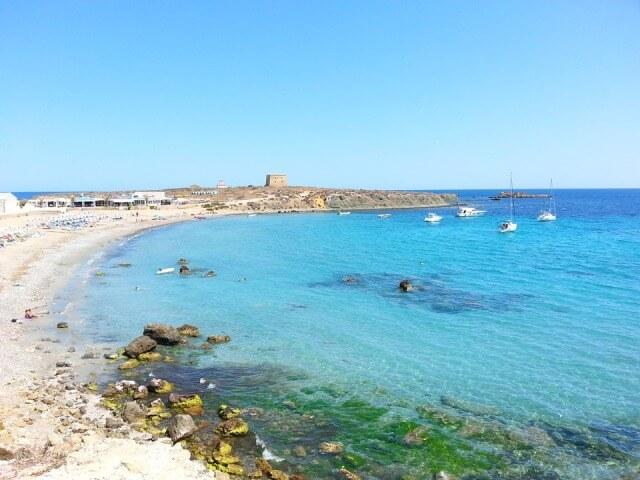 calas playas isla tabarca