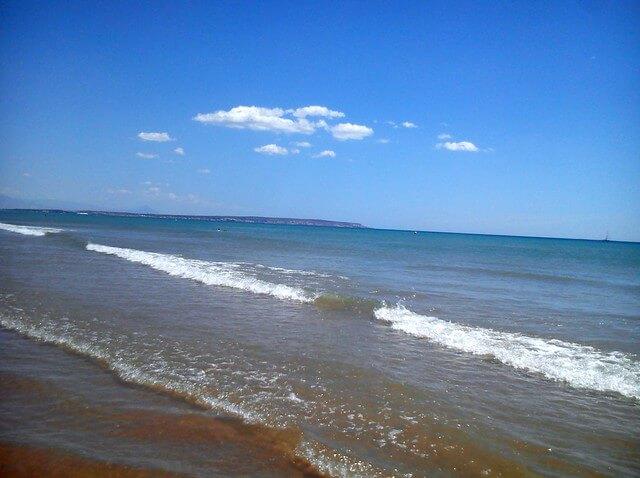 playa el rebollo