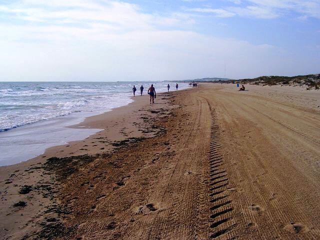 playa la marina