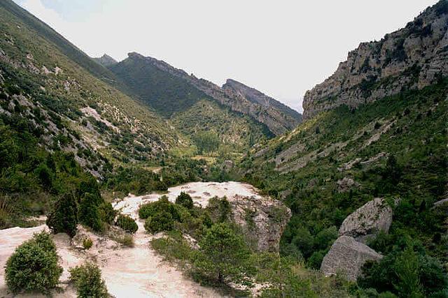 ruta desfiladero puron
