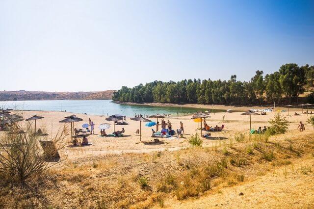 playa isla zujar