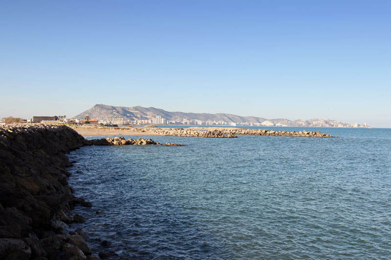 Playas nudistas en Valencia