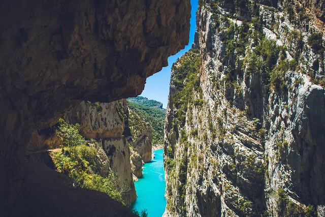 ruta congost mont rebei