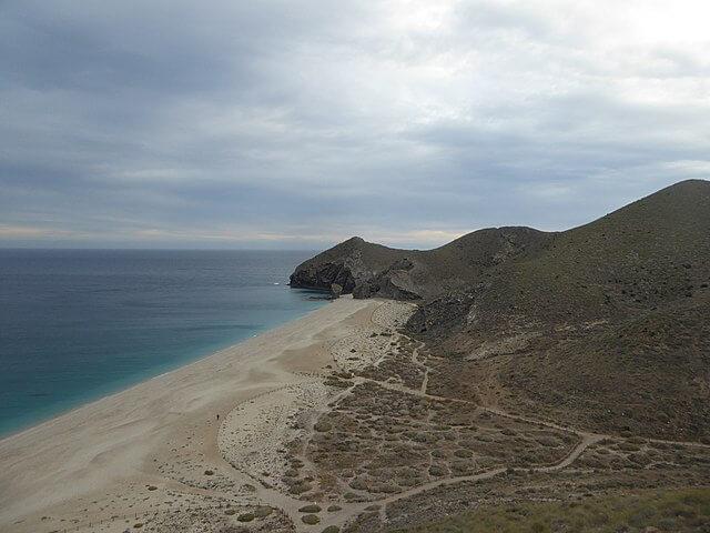playa muertos almeria