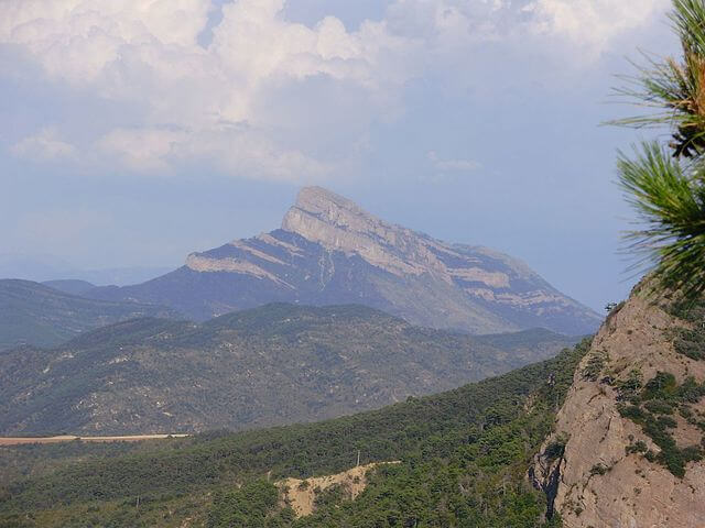 paisaje protegido monte oroel