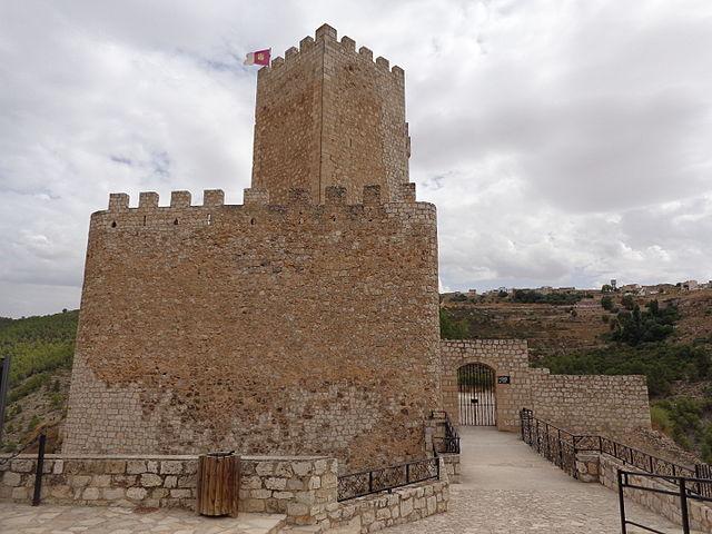 castillo alcala jucar