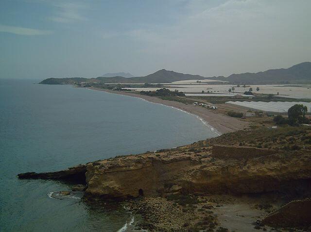 playa puntas calnegre