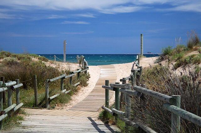 playa muntanyans