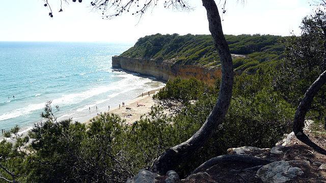 playa nudista marquesa tarragona