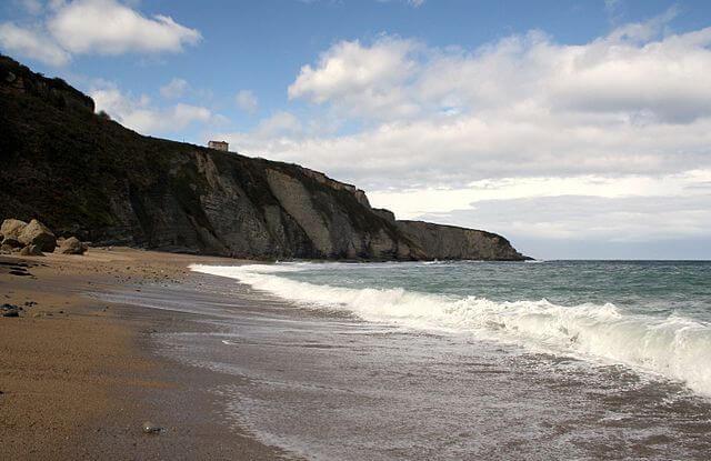 playa serin asturias