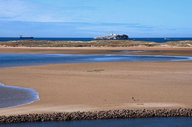 dunas punta estuario miera