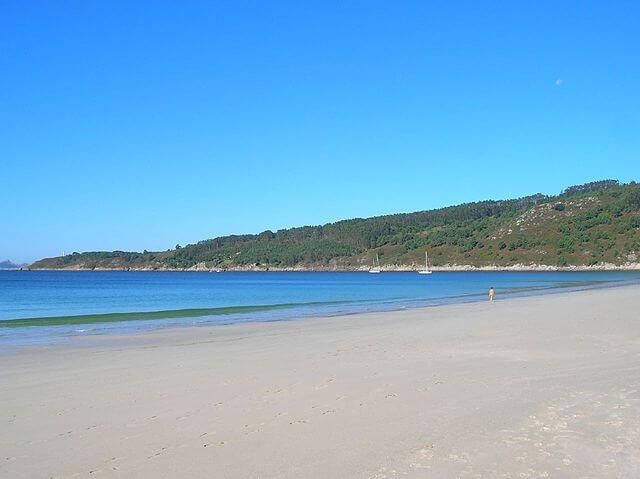 playa barra pontevedra