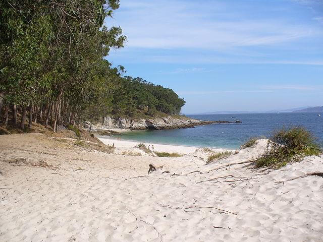 playa figueiras pontevedra