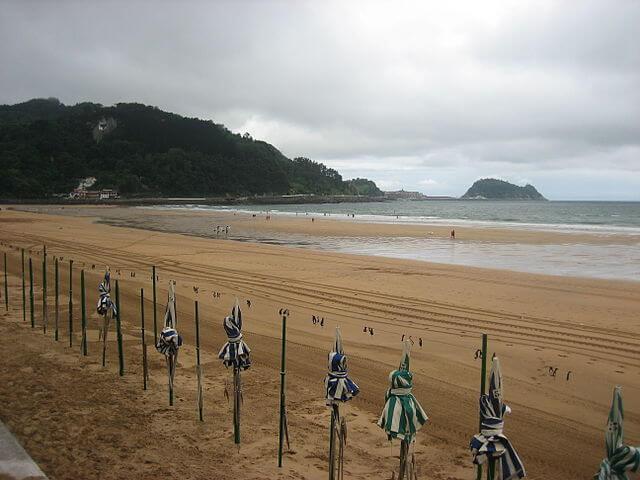 playa zarauz
