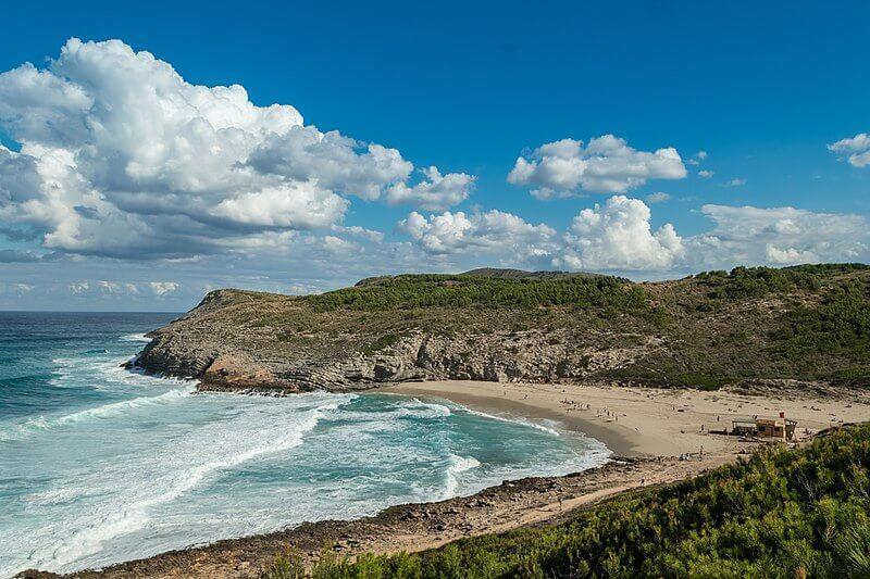 playas nudistas mallorca