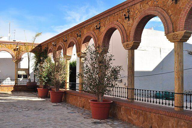 plaza parterre mojacar