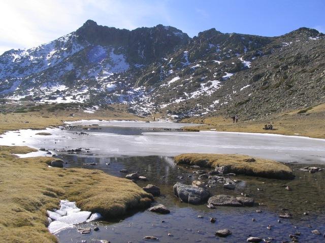 laguna pajaros sierra guadarrama