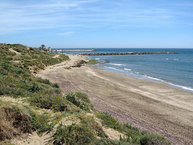 playa cabopino las cañadas