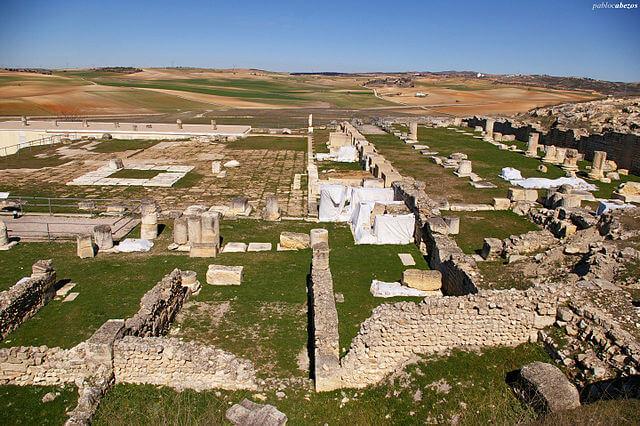 ruinas romanas segobriga conde pasamar