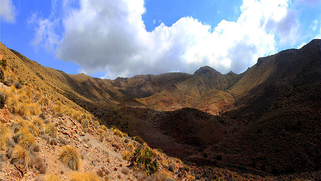 ruta senderismo almeria caldera majada redonda