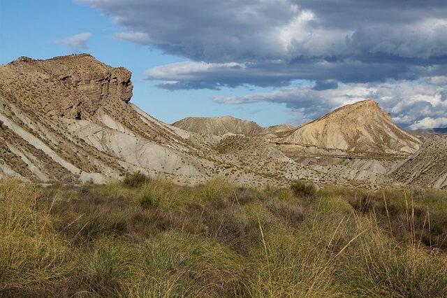 ruta senderismo almeria cerro alfaro desierto tabernas