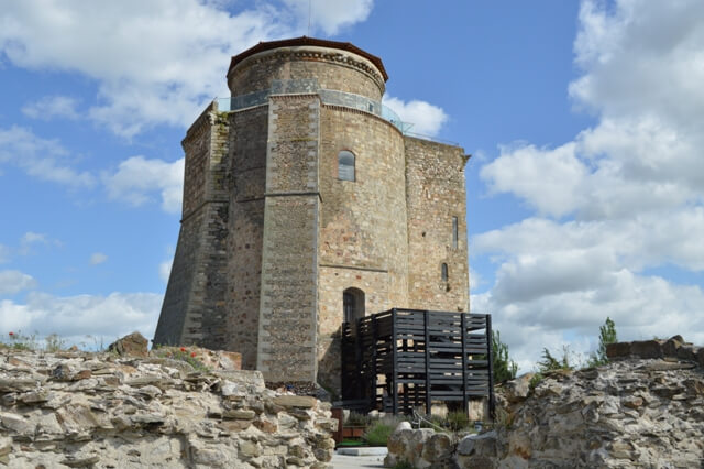 castillo alba tormes