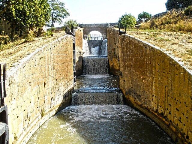 ruta canal castilla calahorra ribas palencia
