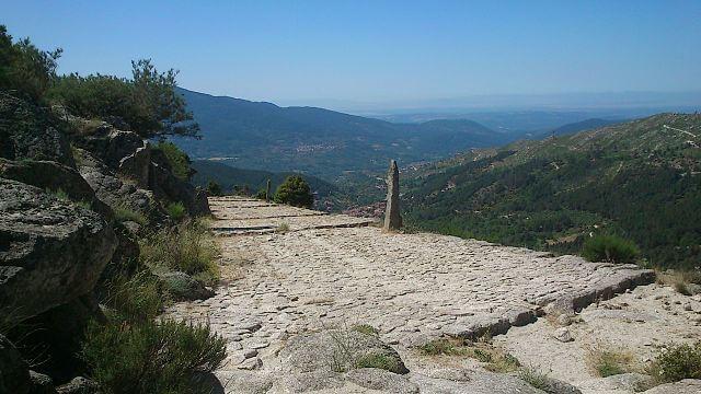 rutas sendero calzada romana avila puerto pico