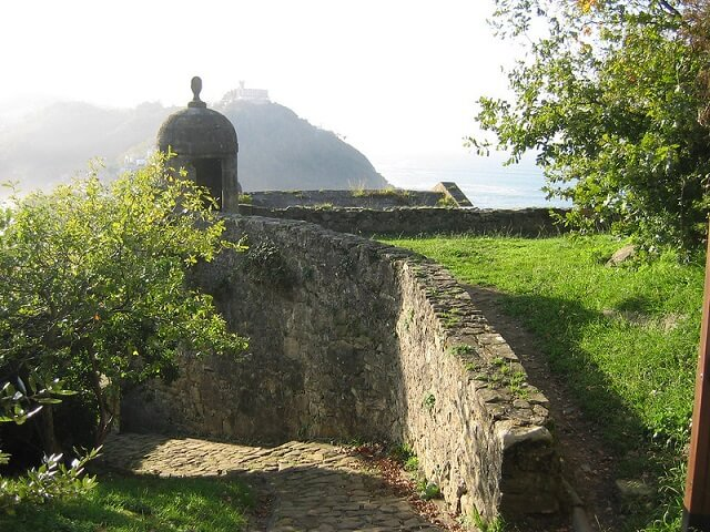 castillos guipuzcoa castillo mota san sebastian