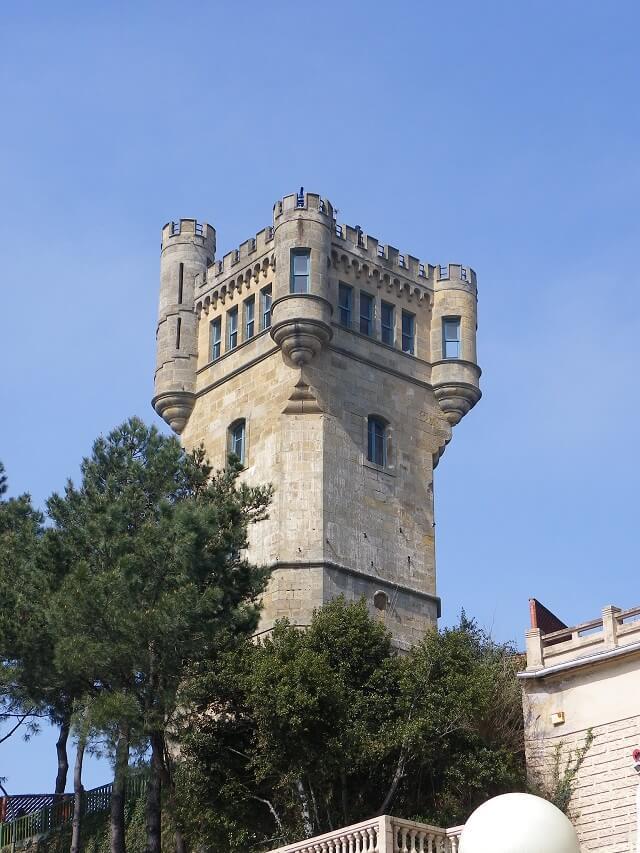 castillos guipuzcoa torre igueldo
