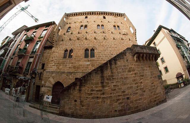 castillos guipuzcoa torre luzea