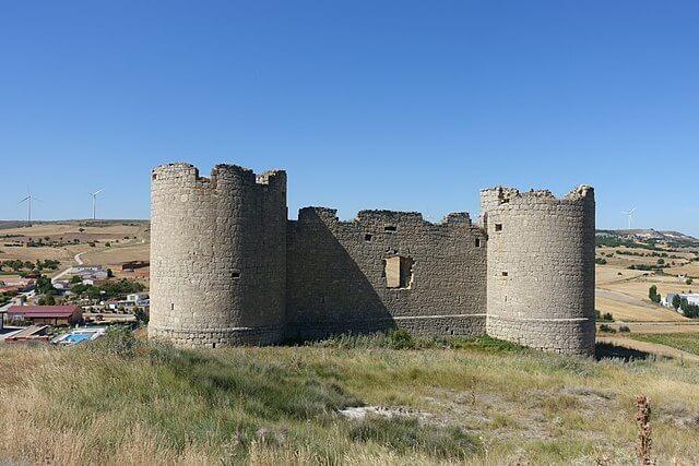 castillo hornillos cerrato palencia